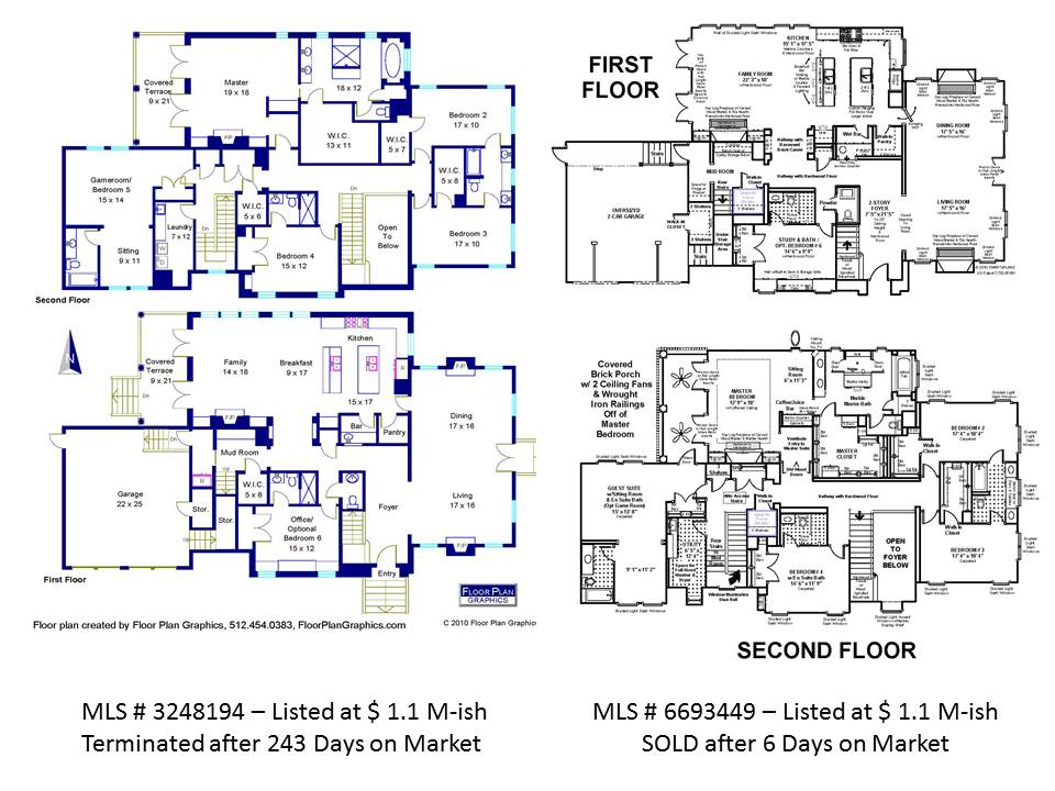 real estate agents - compare to floor plan | smart e plans